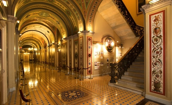 washington dc capitol buildings inside