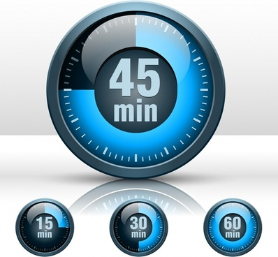 speedometer templates shiny modern blue circle design