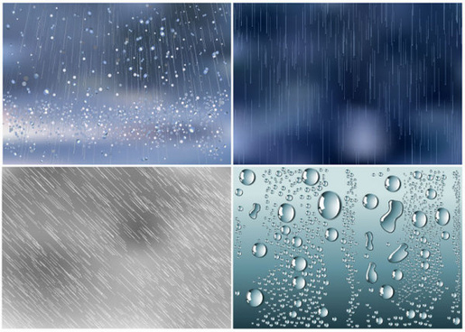 water droplets background vector