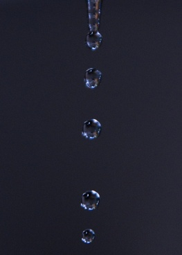 water drops raining
