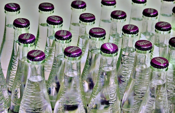 water mineral water bottles