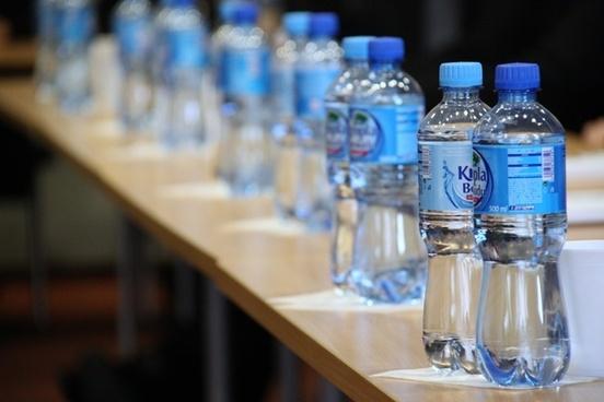 water minerals bottle