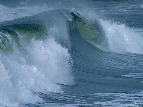 water roller roll big wave