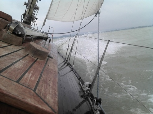 water sailing wind