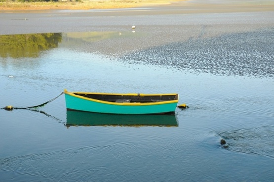 water sunset reflex