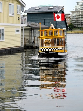 water taxi in harbor