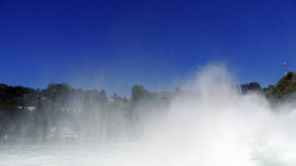 water vapor rhine schaffhausen