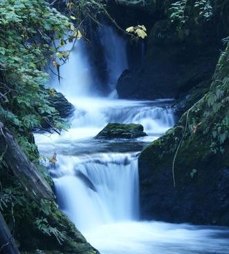 water waterfall stream