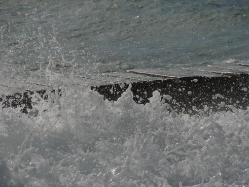 water wave wet