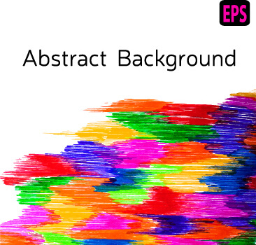watercolor colourful background abstract vector