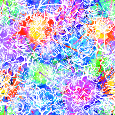 watercolor object abstract art background vector