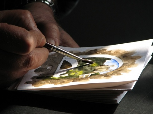 watercolor painter artists