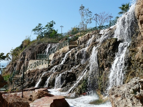 waterfall bach water