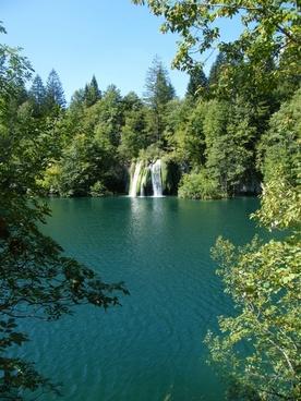 waterfall croatia plittvice