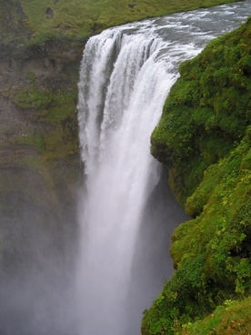 waterfall force deep