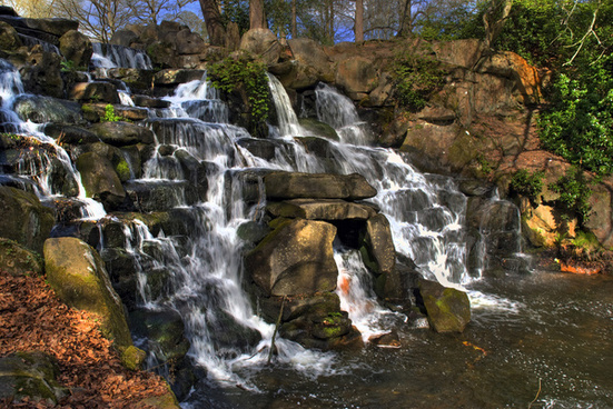 waterfall virginia water