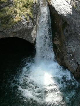 waterfall water wet