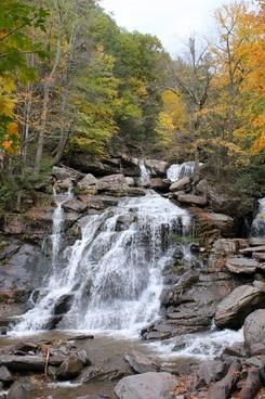 waterfall waterfalls water
