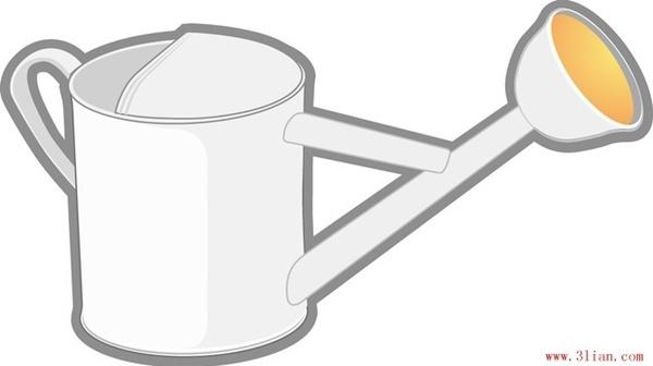 watering bucket vector