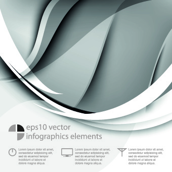 wave dynamic vector background