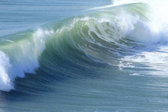 wave ocean nature