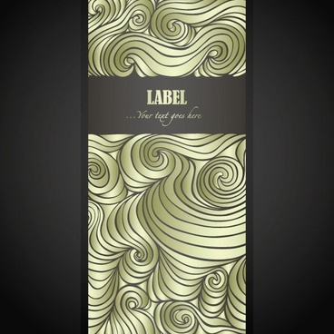 wave pattern vector 2 label
