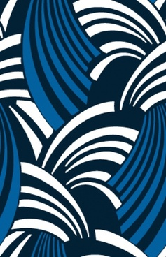 abstract background dynamic waves icon classical flat design