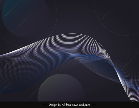 waving background dark dynamic 3d design
