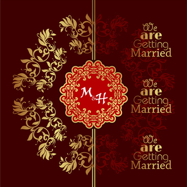 we are geting married card
