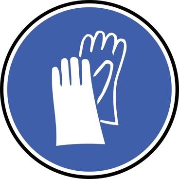 Wear Gloves clip art