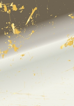 grunge background yellow splattered ink decor