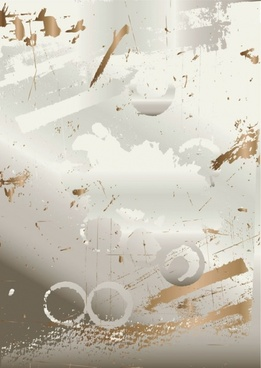 wear splash effect nostalgic background 05 vector