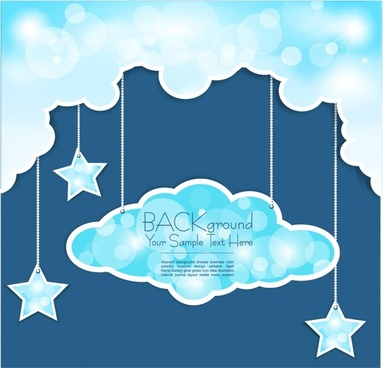 weather night sky background vector