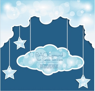 weather pattern background 02 vector