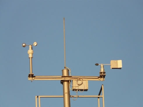 weather station anemometer weather observation
