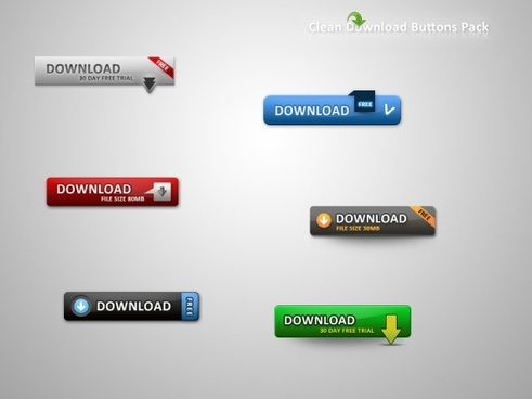 web20 web download button psd