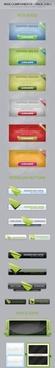 web button design 01psd layered