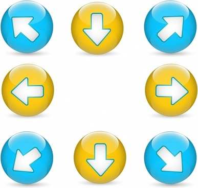 Web Buttons | Arrows