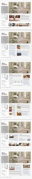 web design home psd layered