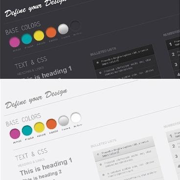 Web Design Wireframe Kit PSD