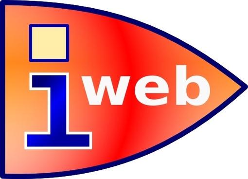 Web Laucher Icon clip art