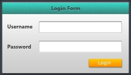 web login form ui psd layered teaching