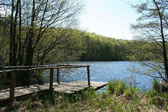 web see green lake