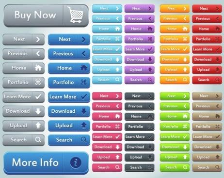 website button 01 vector