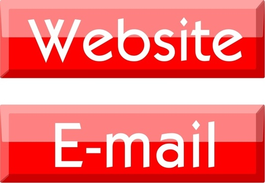 Website/E-mail buttons