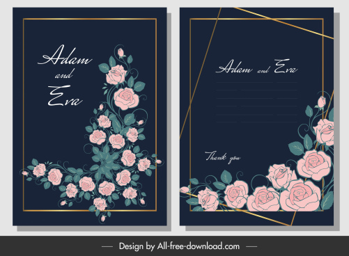 wedding banner elegant blooming roses decor