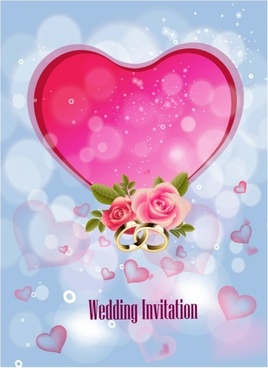Wedding invitation vector free vector download 2756 free vector wedding invitation background stopboris Gallery