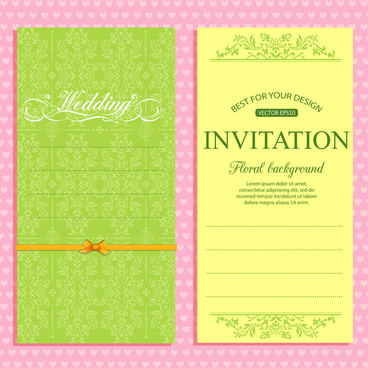 Free download wedding invitation designs free vector download (2,748 ...