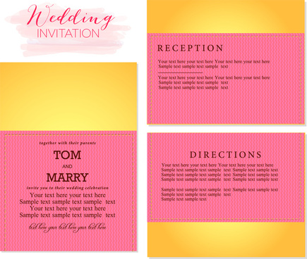 Wedding Invitation Template Coreldraw Free Vector Download 28 482 Free Vector For Commercial Use Format Ai Eps Cdr Svg Vector Illustration Graphic Art Design