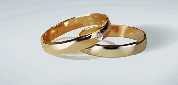 Wedding Ring Clip Art 1